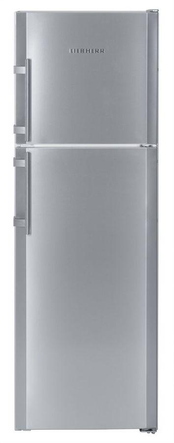 Холодильник LIEBHERR CTPesf 3316,  двухкамерный, нержавеющая сталь