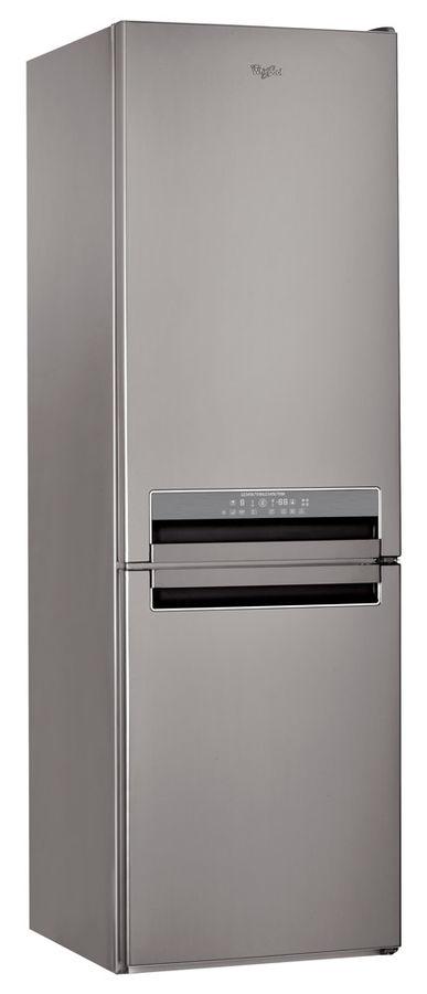 Холодильник WHIRLPOOL BSNF 8121 OX,  двухкамерный,  нержавеющая сталь