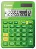 Калькулятор CANON LS-123K-MGR, зеленый