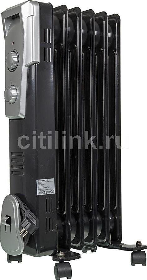 Масляный радиатор POLARIS PRE Q 0615, 1500Вт, черный