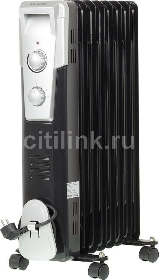 Масляный радиатор POLARIS PRE Q 0820, 2000Вт, черный