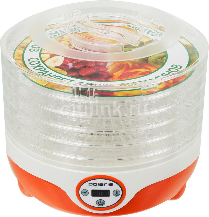 Сушка POLARIS PFD 0605D для фруктов и овощей,  оранжевый