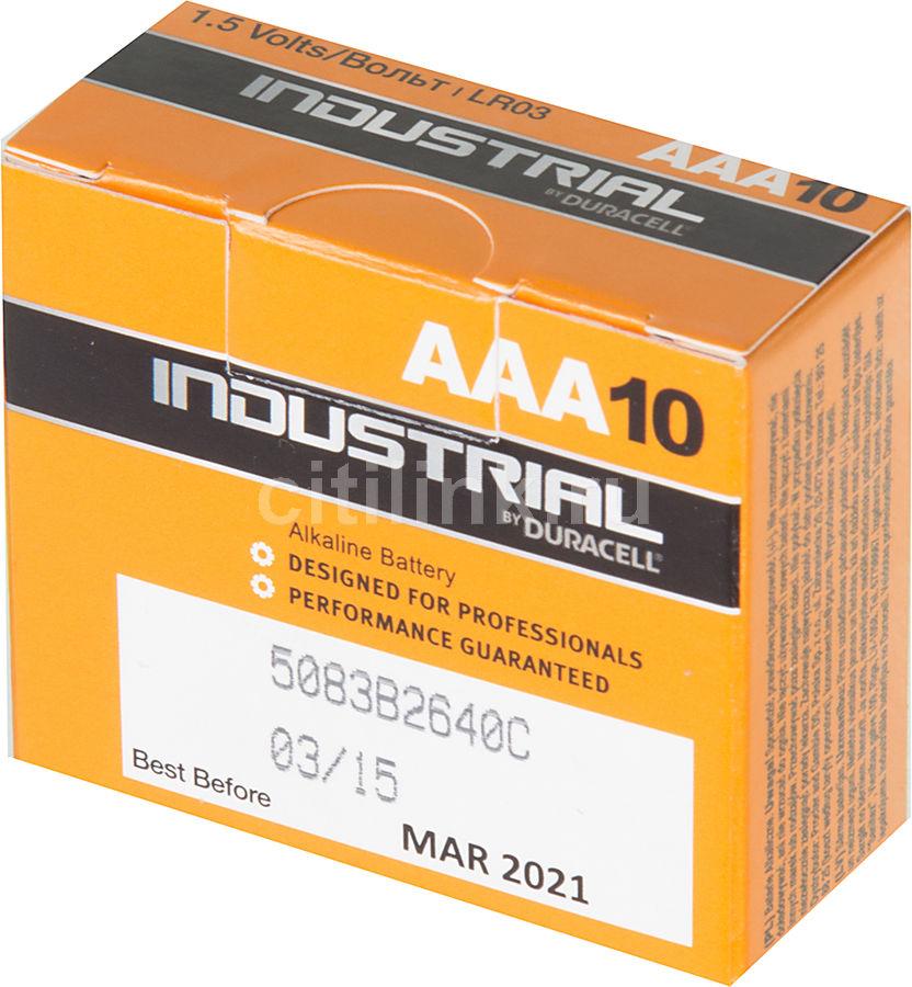 Батарея DURACELL Industrial 10 шт. AAA
