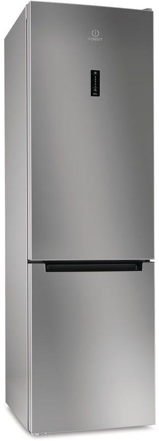 Холодильник INDESIT DF 5200 S,  двухкамерный, серебристый