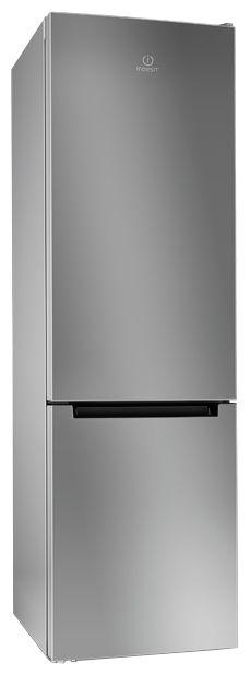 Холодильник INDESIT DFE 4200 S,  двухкамерный, серебристый