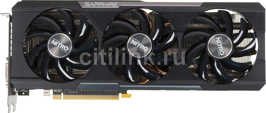 Видеокарта SAPPHIRE Radeon R9 390,  11244-00-20G NITRO TRI-X OC (UEFI),  8Гб, GDDR5, OC,  Ret