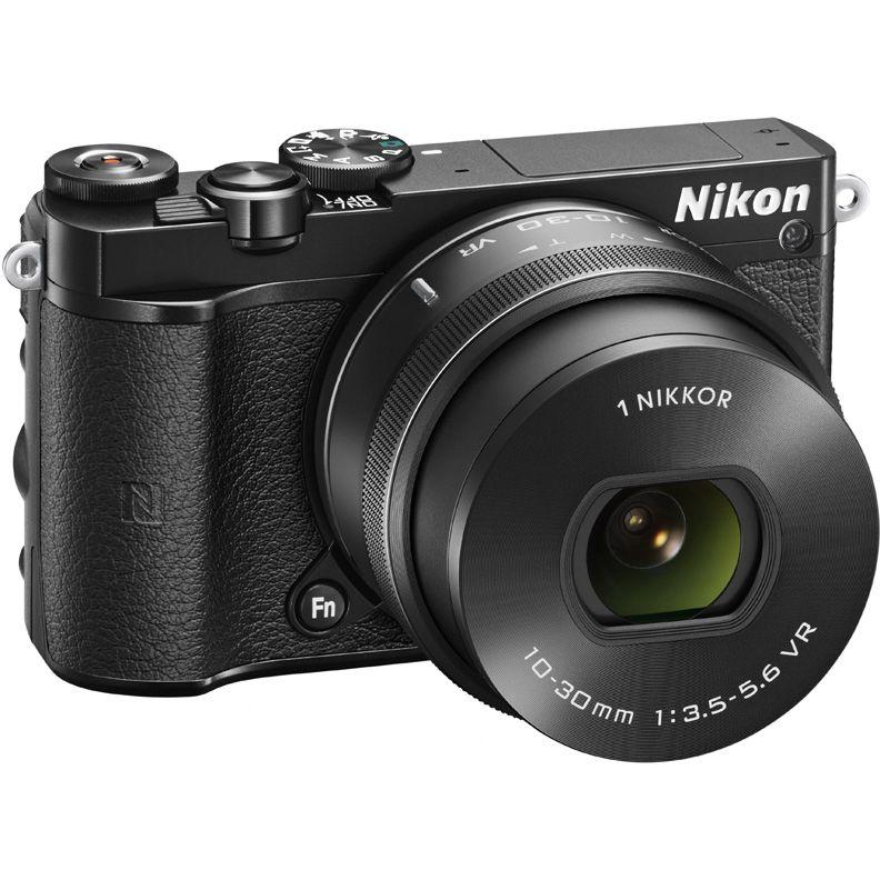 Фотоаппарат NIKON 1 J5 kit ( 1 NIKKOR VR 10-30mm f/3.5-5.6), черный [vva241k001]