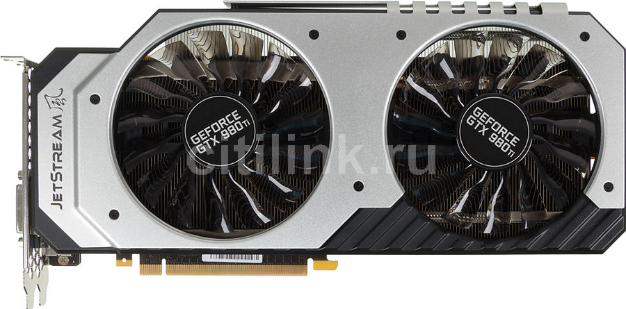 Видеокарта PALIT GeForce GTX 980TI JetStream,  NE5X98T015JB-2000J,  6Гб, GDDR5, Ret