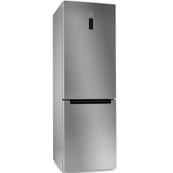 Холодильник INDESIT DF 5180 S,  двухкамерный,  серебристый