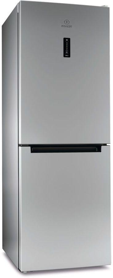 Холодильник INDESIT DF 5160 S,  двухкамерный, серебристый