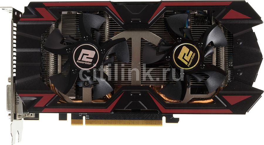 Видеокарта POWERCOLOR Radeon R9 380,  AXR9 380 2GBD5-PPDHE,  2Гб, GDDR5, Ret