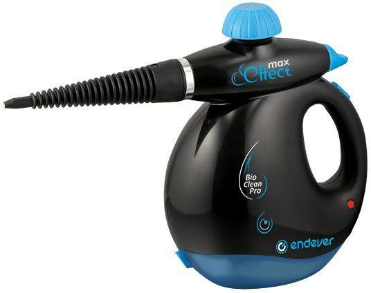 Пароочиститель ручной ENDEVER Q-409,  черный/синий [60088]