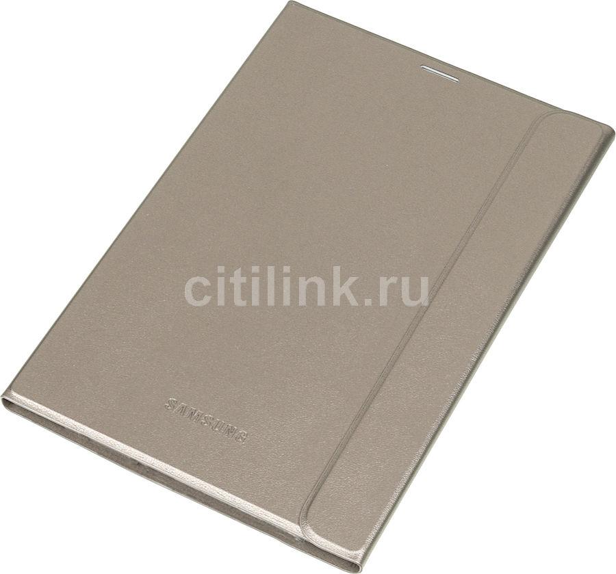"Чехол для планшета SAMSUNG Book Cover,  золотистый, для  Samsung Galaxy Tab S2 8"" [ef-bt715pfegru]"