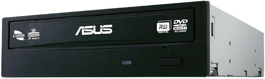 Оптический привод DVD-RW ASUS DRW-24F1MT/BLK/B/AS, внутренний, SATA, черный,  OEM
