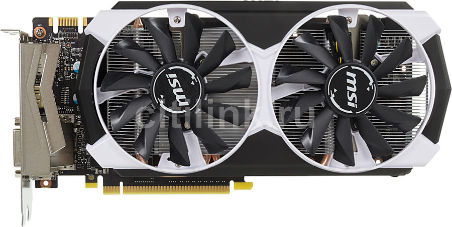 Видеокарта MSI GeForce GTX 960,  GTX 960 4GD5T OC,  4Гб, GDDR5, OC,  Ret