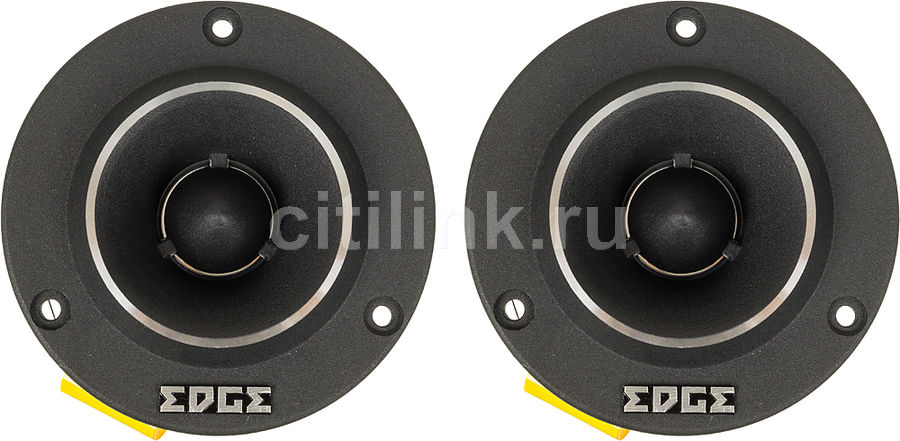 Колонки автомобильные EDGE EDPRO37TA-E4,  твитер,  225Вт,  комплект 2 шт.