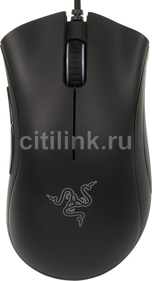 Мышь RAZER DeathAdder Chroma оптическая проводная USB, черный [rz01-01210100-r3g1]