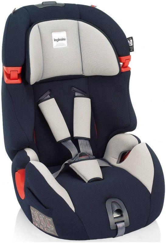 Автокресло детское INGLESINA Prime Miglia AV96E0BLU, 1/2/3, черный/серый