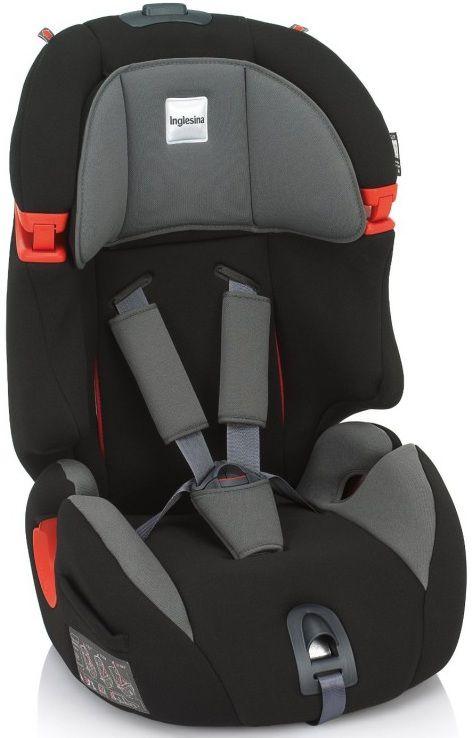 Автокресло детское INGLESINA Prime Miglia AV97E0BLK I-FIX, 1/2/3, черный/серый