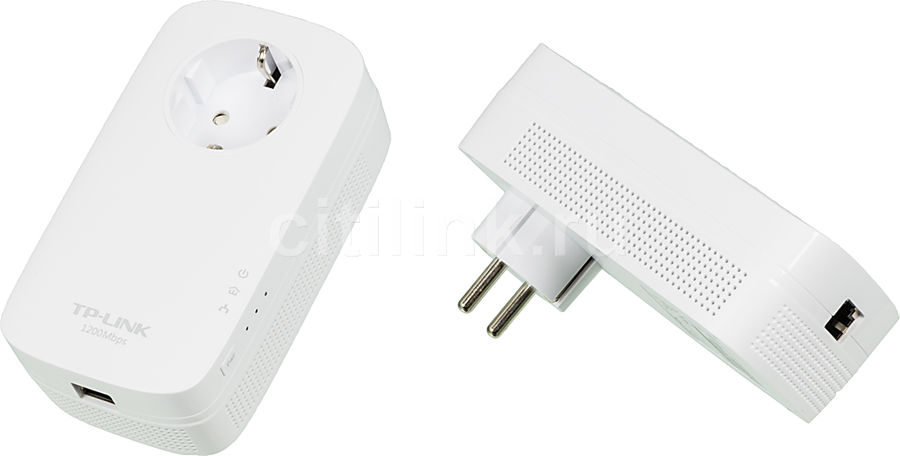 Сетевой адаптер PowerLine/WiFi TP-LINK TL-PA8010PKIT Ethernet aedx sot23 6