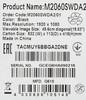 """Монитор ЖК AOC Professional m2060swda2(00/01) 19.5"""", черный вид 12"""