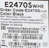 "Монитор AOC Value Line E2470Swhe(00/01) 23.6"", черный вид 12"