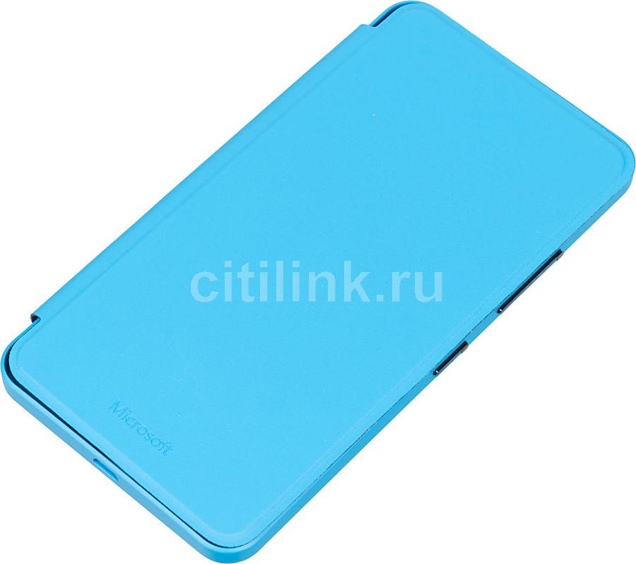 Чехол (флип-кейс) NOKIA CC-3090, для Microsoft Lumia 640 XL, бирюзовый [02744j7]