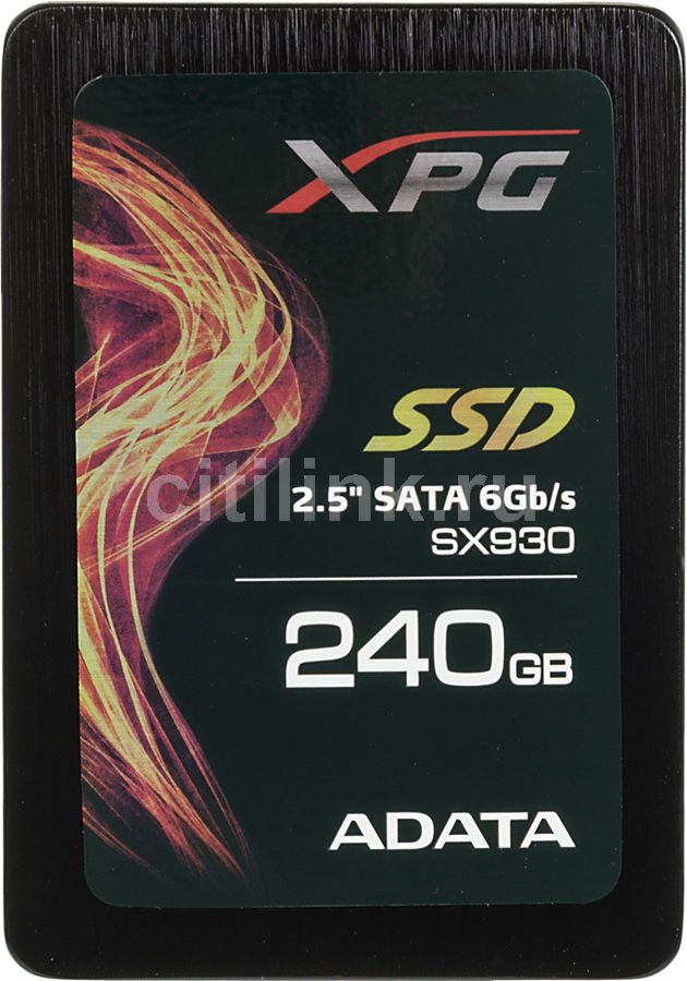 "Накопитель SSD A-DATA SX930 ASX930SS3-240GM-C 240Гб, 2.5"", SATA III"