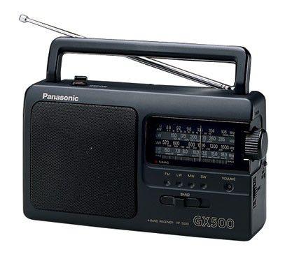 Радиоприемник PANASONIC RF-3500E-K,  черный