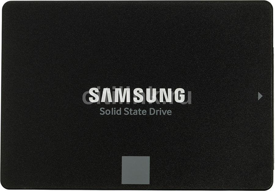 "SSD накопитель SAMSUNG 850 EVO MZ-75E120BW 120Гб, 2.5"", SATA III"
