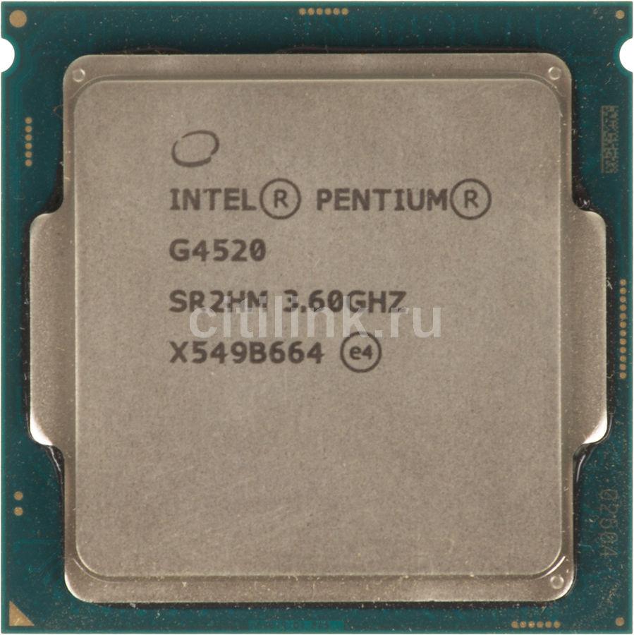 Процессор INTEL Pentium Dual-Core G4520, LGA 1151,  OEM [cm8066201927407s r2hm]
