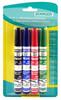 Набор маркеров для досок Stanger BM241 321003 скошенный пиш. наконечник 1-4мм 4цв.