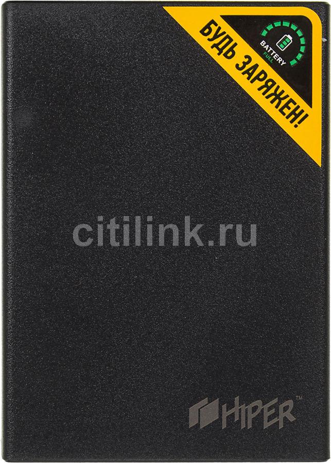 Внешний аккумулятор HIPER RP8500,  8500мAч,  черный [rp8500 black]