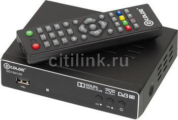 Ресивер DVB-T2HARPER HDT2-5010, черный