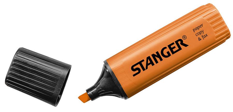 Текстовыделитель Stanger 180002000 оранжевый