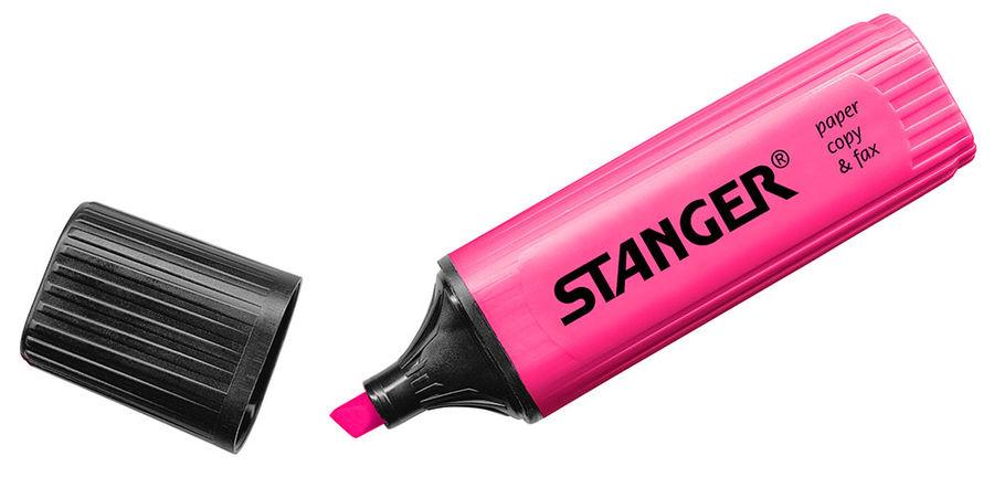 Текстовыделитель Stanger 180004000 розовый
