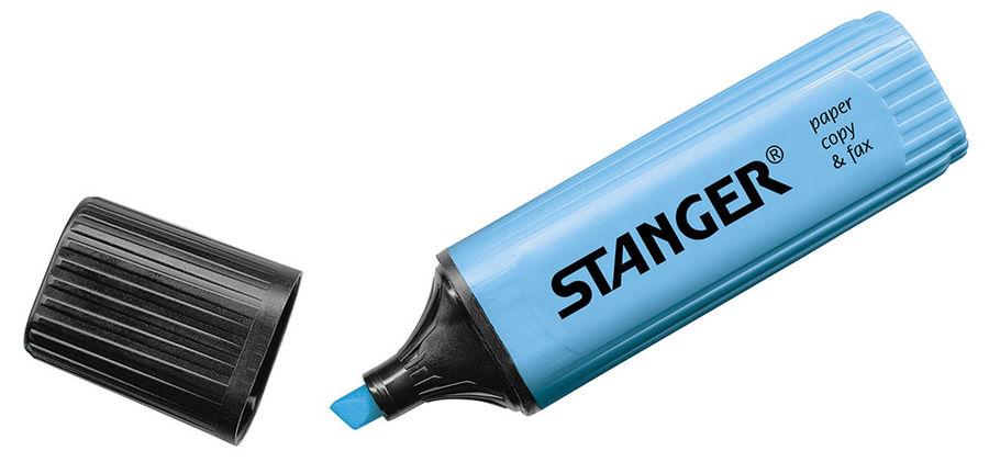 Маркер текстовой STANGER 180005000 1-5мм синий