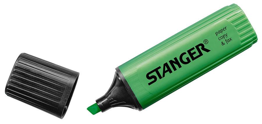 Текстовыделитель Stanger 180006000 зеленый