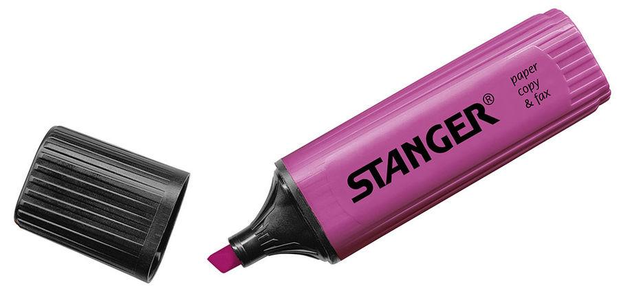 Текстовыделитель Stanger 180012000 лиловый