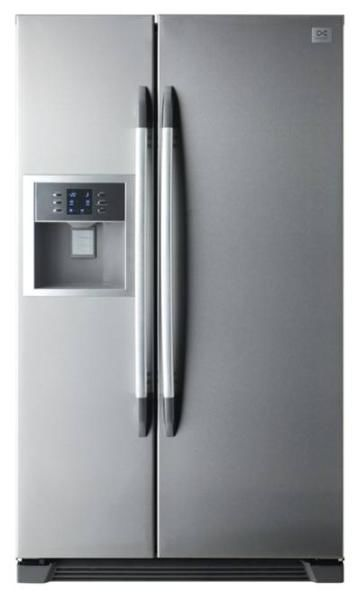 Холодильник DAEWOO FRS-U20DDS,  двухкамерный,  серебристый