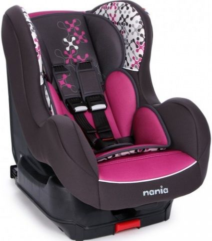 Автокресло детское NANIA Cosmo SP LX (corail  petrole), 0+/1, фиолетовый [093205]