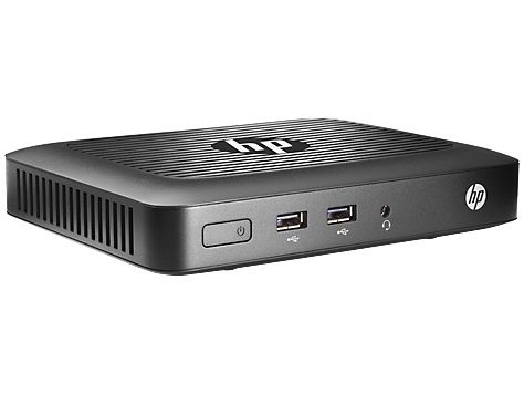 Тонкий клиент  HP t420,  AMD  GX-209JA,  DDR3L 2Гб, Windows Embedded Standard 7E,  черный [m5r76aa]