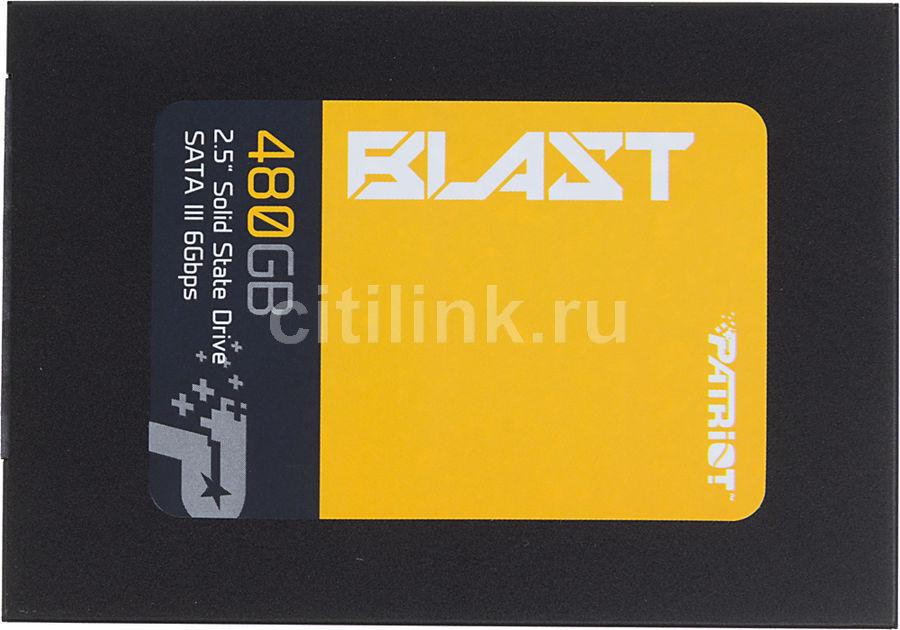 Накопитель SSD PATRIOT Blast PBT480GS25SSDR 480Гб, 2.5