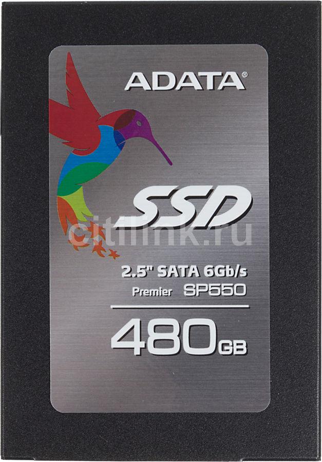 SSD накопитель A-DATA 550 ASP550SS3-480GM-C 480Гб, 2.5