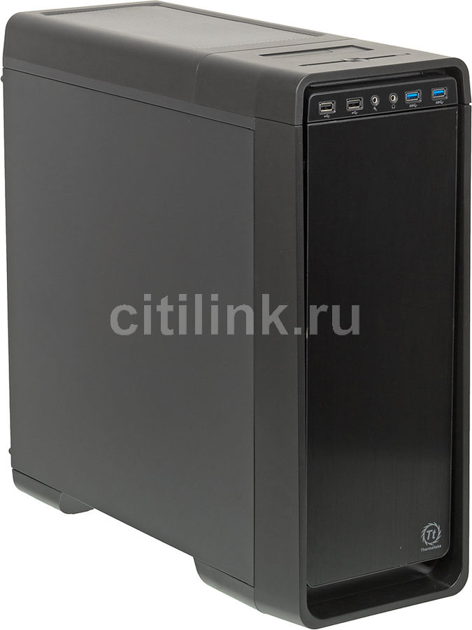 Корпус ATX THERMALTAKE Urban S31, Midi-Tower, без БП, черный