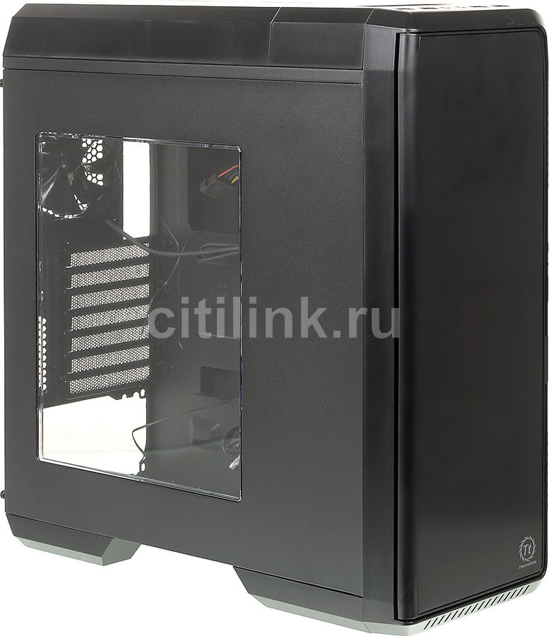 Корпус ATX THERMALTAKE Urban T31 Midi-Tower, без БП,  черный