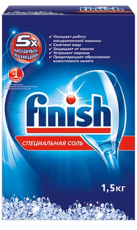 Соль FINISH 17070643,  для посудомоечных машин,  1500г
