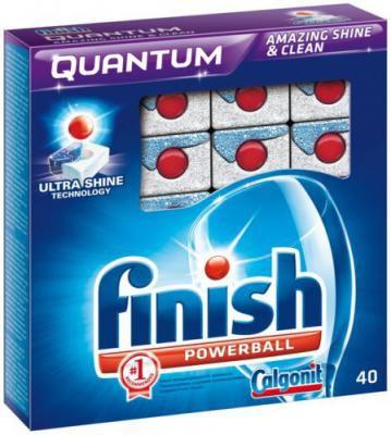 Средство для мытья посуды FINISH 170709070,  40шт, для посудомоечных машин