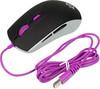 Мышь STEELSERIES Rival 100 Sakura оптическая проводная USB, черный и фиолетовый [62338] вид 2