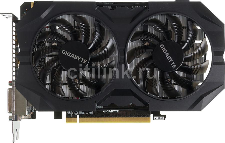 Видеокарта GIGABYTE GeForce GTX 950,  GV-N950WF2OC-2GD,  2Гб, GDDR5, OC,  Ret
